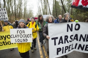 clayoquot_sound_activists_marching_to_arrests_at_kinder_morgan_work_site_burnaby_mount_-_mychaylo_prystupa_-_2014-11-26_w3000